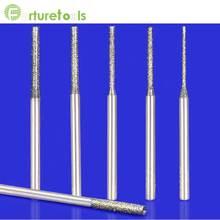 35pcs mini drill set electroplated diamond bit dremel for jade glass Dia0.8/1.0/1.2/1.5/1.8/2.0/2.5mm TZ04