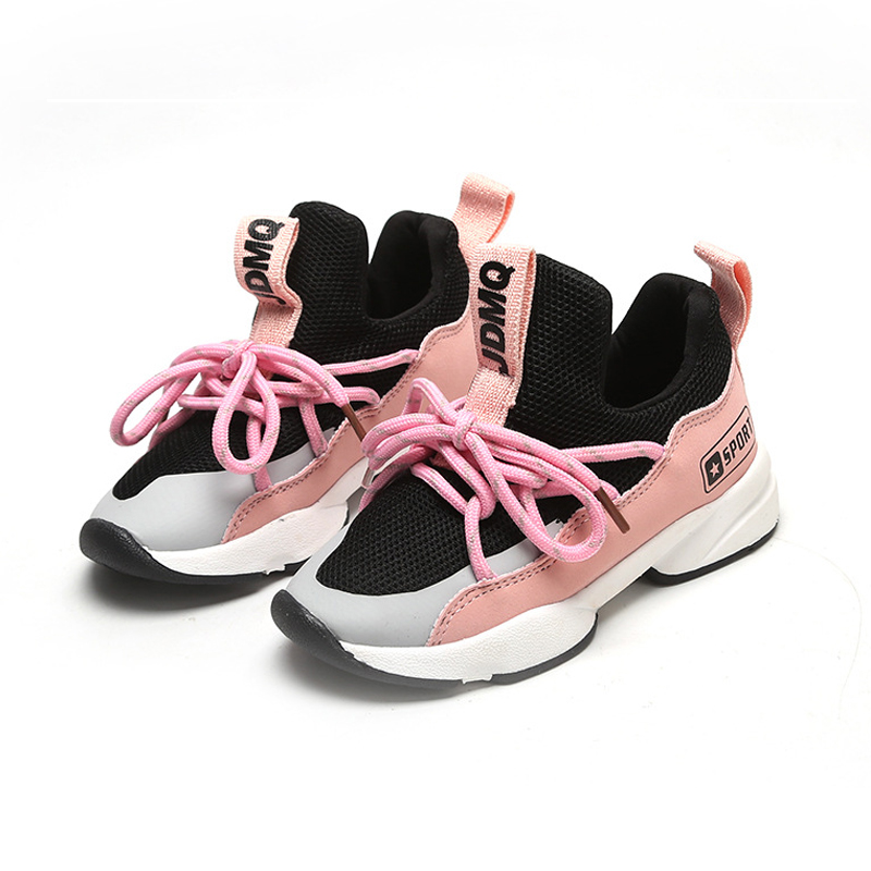 Girl Shoes Soft Kids Running Shoes