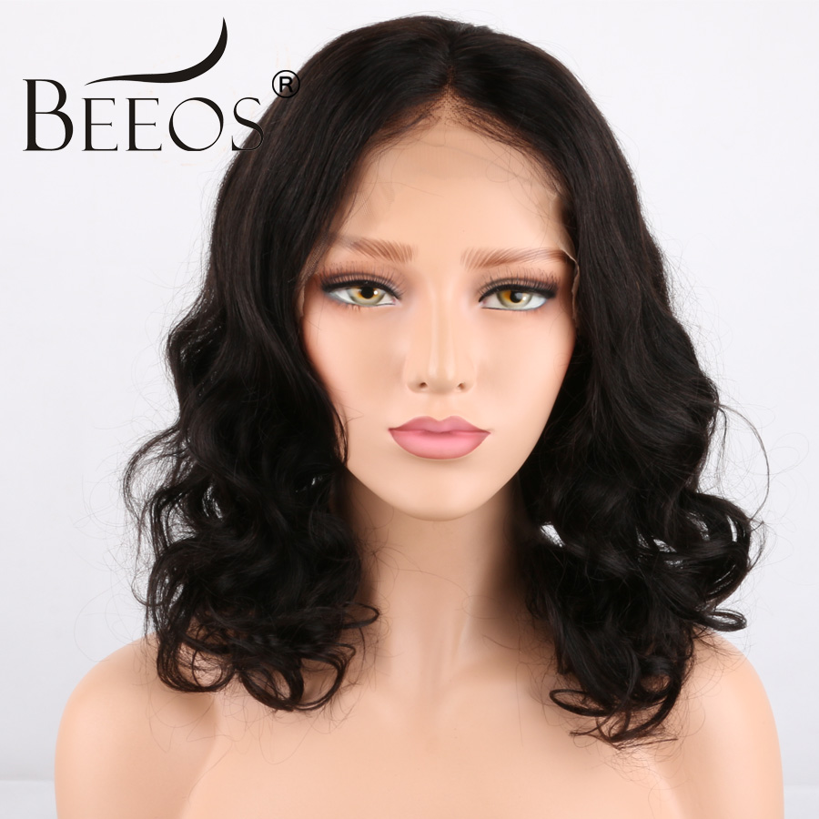 Glueless Full Lace Wigs Human Hair With Baby Hair 150 Density Brazilian Curly Full Lace Human Hair Wigs Pre Plucked BEEOS Remy