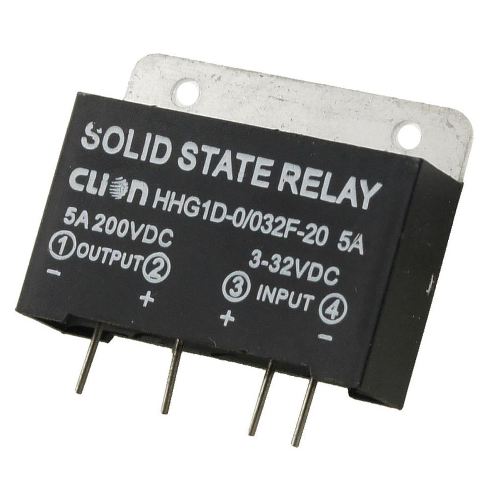 Dsha New Hot Heat Sink Input 3 32v Dc Output 5a 200v Pcb Mount Solid State Relay Germany Aeproductgetsubject