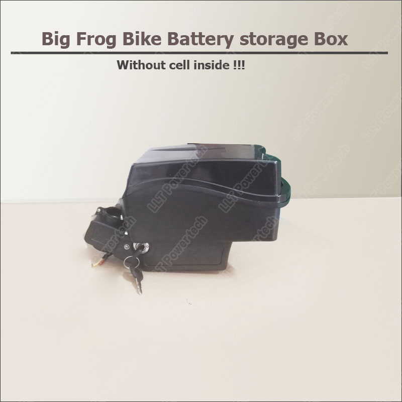 36V 48V  lithium ion battery  big frog battery case and  houser for electric  bike or moutain bicycle battery box-in Battery Storage Boxes from Consumer Electronics    1
