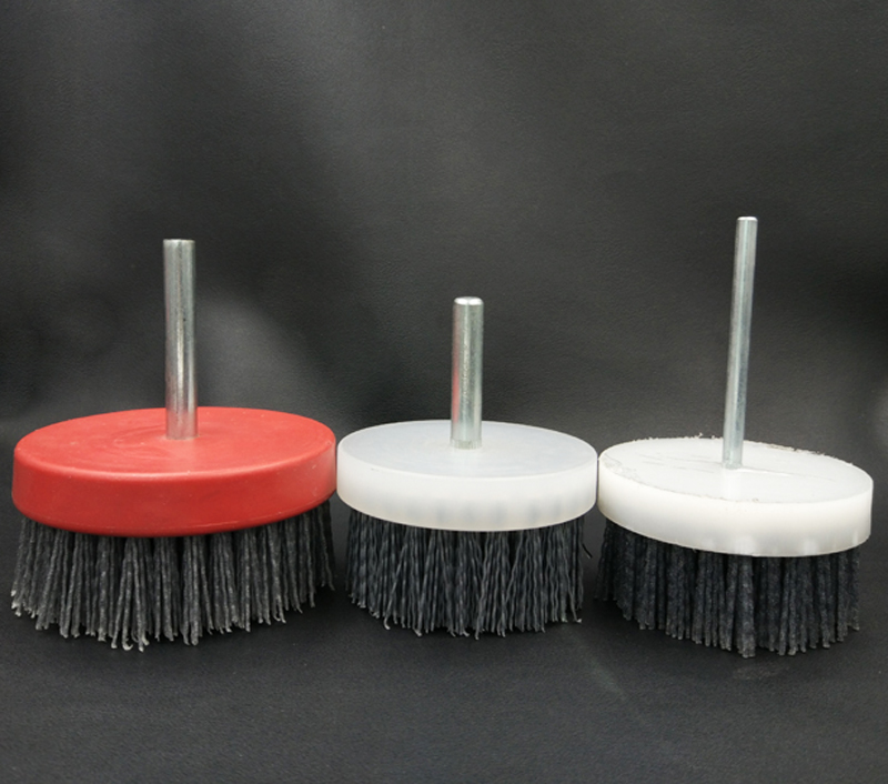 100cm  Instrial Shank Abrasive Wire Grinding Flower Head Wood Furniture Mahogany Polishing Brush