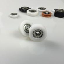 10 PCS 3D printers carving machine flat roller wheels Advertising 6X30-9mm