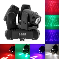 Premium LED Stage Rotating Moving Head Light Professional Stage Lighting KTV Bar Disco Party Show Projector Decoration Light