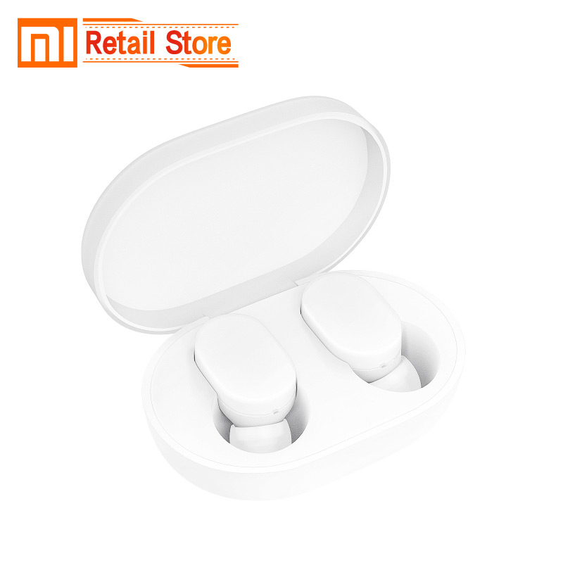 New Xiaom Mijia TWS AirDots bluetooth Earphone Youth Version stereo bass BT 5 0 Eeadphones With