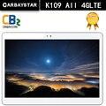 K109 carbaystar android 6.0 tablet pcs 10.1 polegada tablet pc smartphone 4G LTE núcleo octa 1920x1200 4 + 64 Dual SIM GPS IPS FM tablet