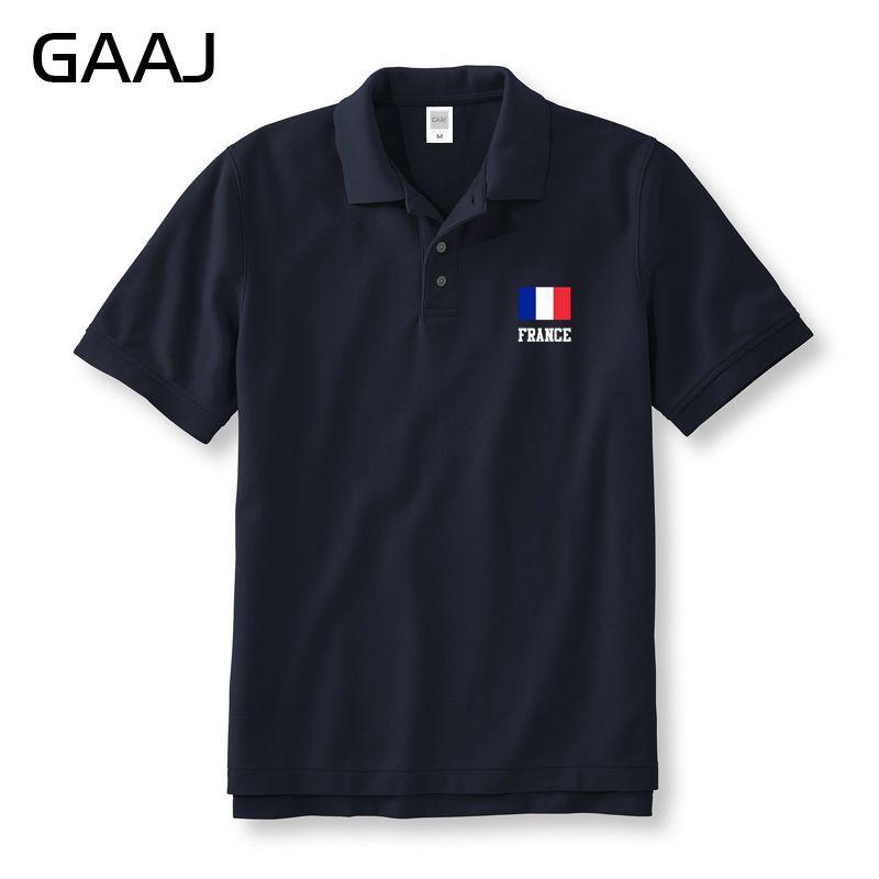 Ben noto Francia Bandiera Polo Uomo e Donna Unisex Uomo Marca abbigliamento  KN02