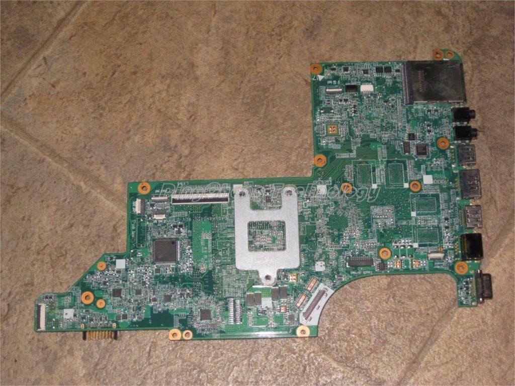 SHELI laptop Motherboard for hp DV6-3000 notebook mainboard 595135-001 DA0LX8MB6D1 31LX8MB0020 100% tested недорго, оригинальная цена