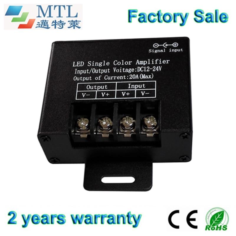 4914dcb4a لون واحد بقيادة إشارة مكرر 12-24 فولت/20a ، 15 قطعة/الوحدة ، ل لون واحد led  قطاع ، مصنع بالجملة