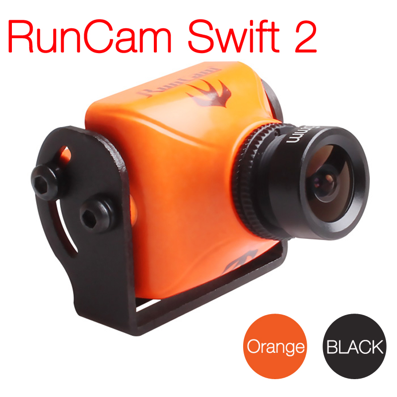 RunCam Swift 2 1/3 CCD 600TVL PAL Micro Camera IR Blocked FOV 130/150/165 Degree 2.5mm/2.3mm/2.1mm w/ OSD MIC runcam micro swift 2 fpv camera 2 1mm lens fov160w osd