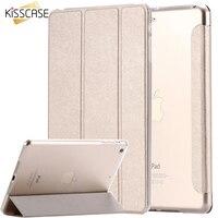 Elegant Luxury Transparent Clear Silk Slim Thin Leather Case For Ipad Mini 1 2 Retina 3