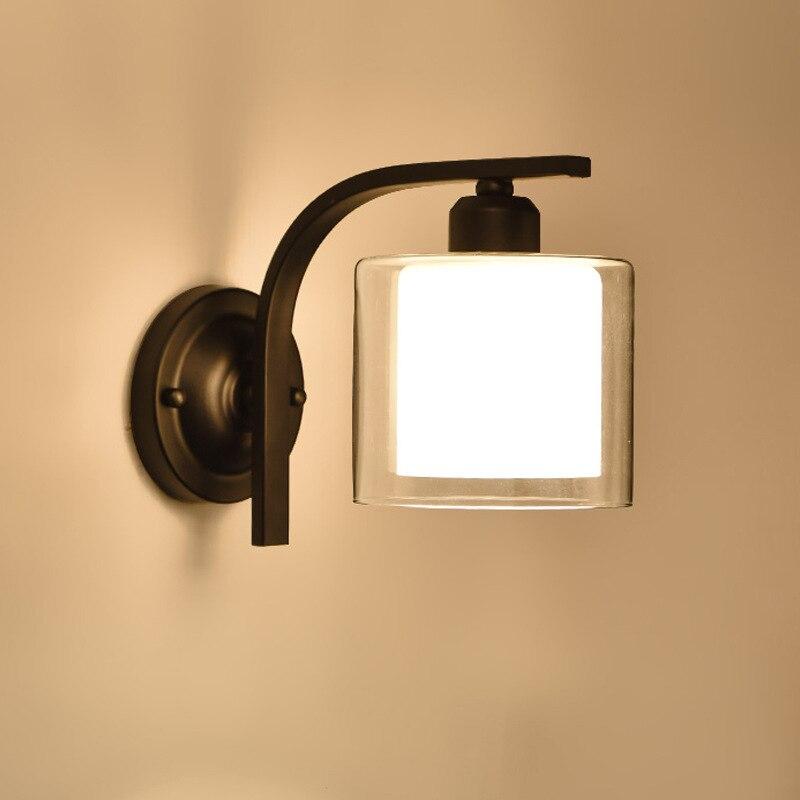 Bedroom Bedside Lamp American Minimalist Aisle Wall Lamp  Bathroom Light  Wall Lights  Bedroom Light  Bathroom Light Fixtures