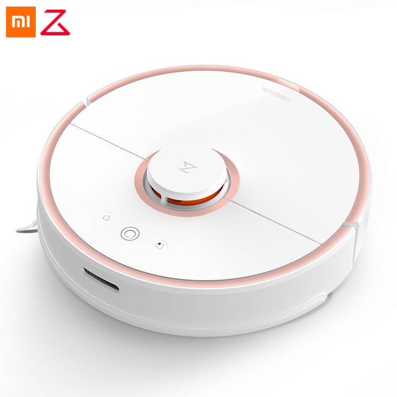 Original Xiaomi Roborock New MI Robot Vacuum Cleaner 2 S50/S51 Automatic Sweeping Dust Sterilize Mop Smart Planned Mijia APP