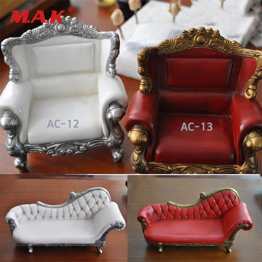 1/6 Scale Action Figure Accessories Long/Short Sofa Model For Figure Toys