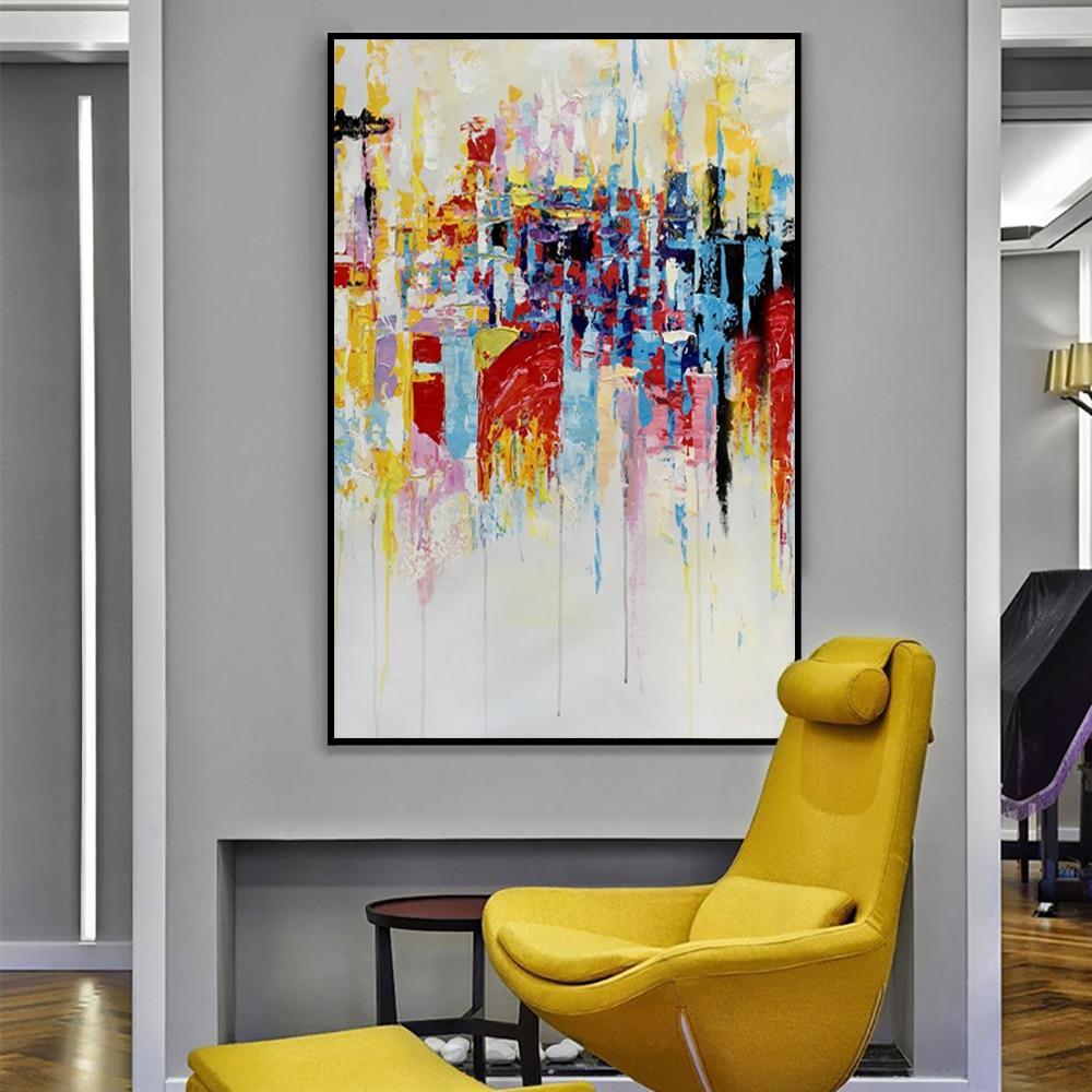 Acheter Muya Images Murales Pour Le Salon Grande Peinture Abstraite Toile Tableau Art Tableau Peinture Sur Toile Huile Image Pour Chambre De 358 2 Du