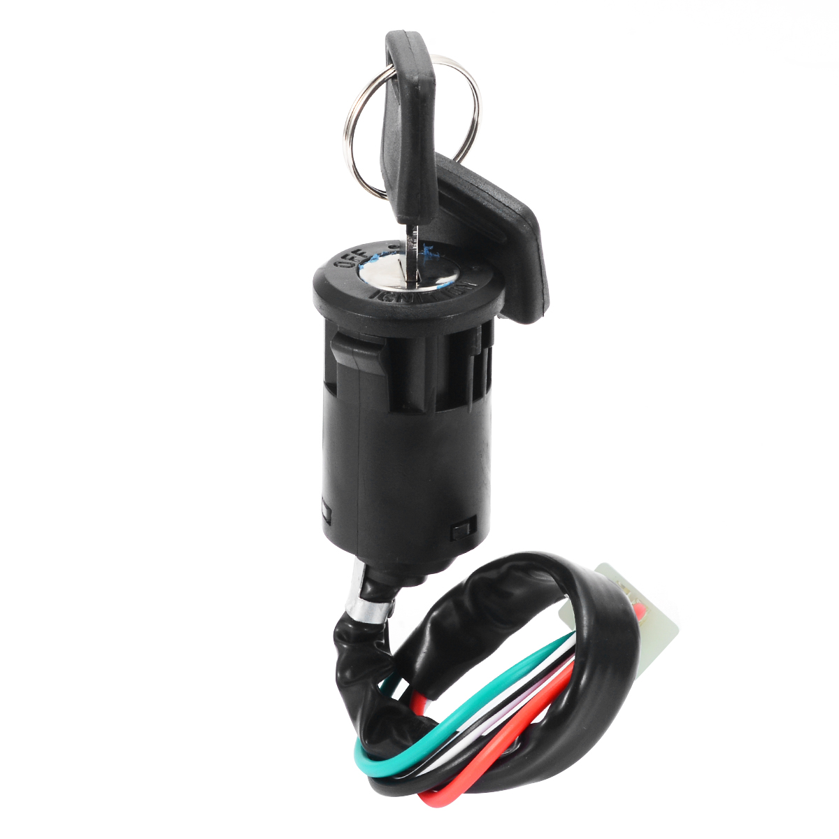 Universal Motorbike Ignition Kits 4 Wire ATV Ignition Switch+Key for 50 70 <font><b>90</b></font> <font><b>110</b></font> 125 150 200 250CC Motorbike ATV Quad Dirt Bike image