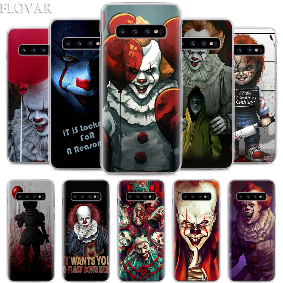 Phone-Case Coque Horror Clown Samsung Galaxy S10e Pennywise Note S9-Plus For S10e/S10-plus/S7/..