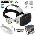 Et bobovr bobo vr z4 caixa de óculos de realidade virtual óculos 3d de papelão vr fone de ouvido para iphone android controlador do bluetooth móvel