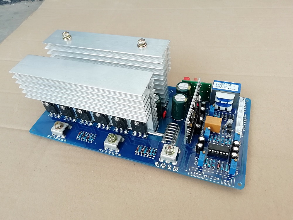 Air Conditioning Appliance Parts Home Appliance Parts Automatic Identification Of 24-72v Input Voltage Of Power Frequency Sine Wave Inverter Motherboard 7500va