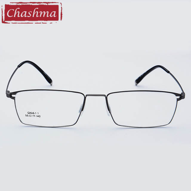 placeholder Chashma Marca Liga De Titânio Óculos Ultra Light Vidros do Olho  Óptico óculos Quadros Homens Óculos f01f691f61