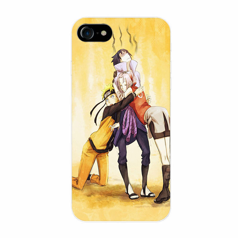 Naruto Sasuke cover case for Samsung & Iphone