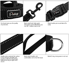 Reflective Dog Collar Walking Leash
