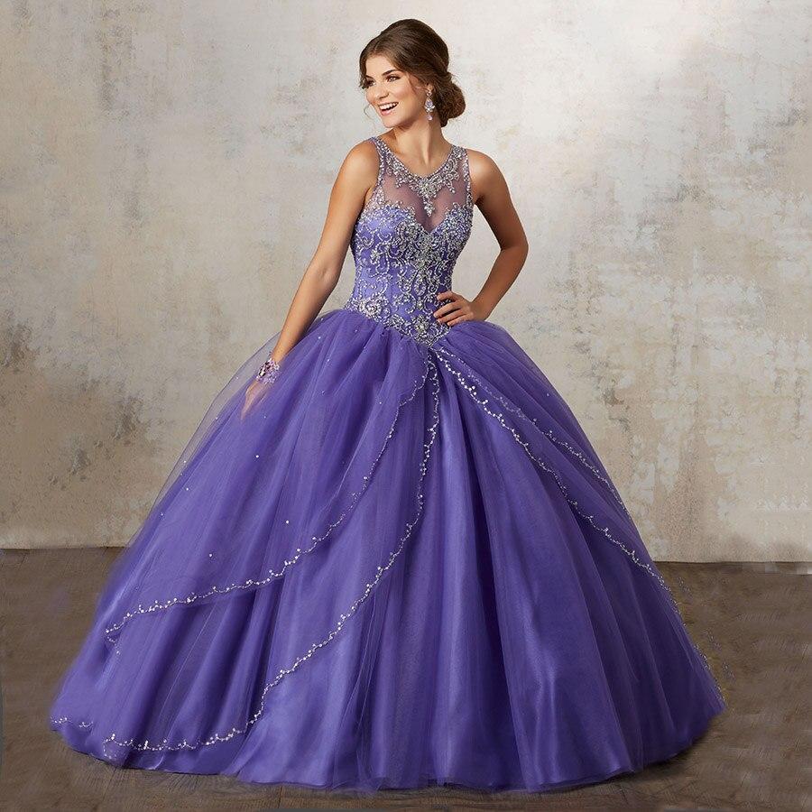 Aliexpress.com : Buy Princess Vestidos De 15 Anos 2017 Quinceanera ...