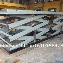 Гидравлический ножничный грузовой подъемник Платформа Дизайн и производство в соответствии с требованиями клиента