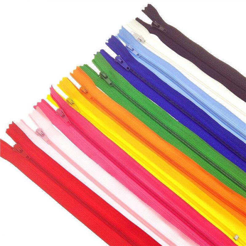 Zips Assorted 25cm Long Zip Zipper