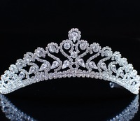 Bridal Jewelery Wedding Party Quality Austrian Rhinestones Crystal Crowns And Tiaras Headband Accessories For Hair Jewelry