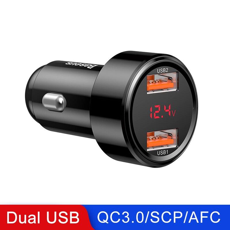 BLACK Dual USB