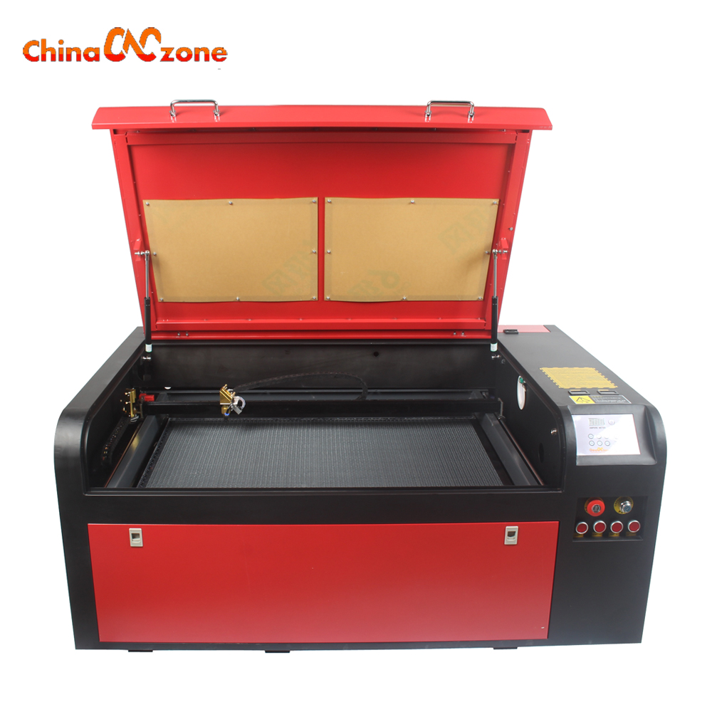Laser 100W 6090 Laser Engraving Machine CO2 Laser Cutting Machine 220V / 110V Laser Cutter Chiller DIY CNC Engraving Machine стоимость