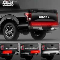 12 V bande de LED Flexible DRL lumière courante 120 cm 150 cm voiture camion hayon clignotant barre de lumière LED étanche feu de freinage inverse