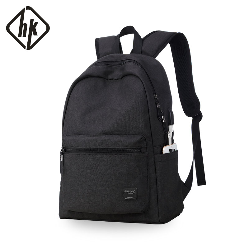 Men s Backpack USB Laptop Backpack 15 6 Inch Notebook USB Back Pack Male Casual Waterproof