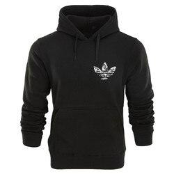 2018 New brand Hoodie Streetwear Hip Hop red Black gray pink Hooded Hoody Mens Hoodies and Sweatshirts Size M-XXL 2