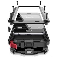 Luxury Doom Armor Dirt Shock Waterproof Metal Aluminum Cell Phone Case For Iphone 4 4S 5
