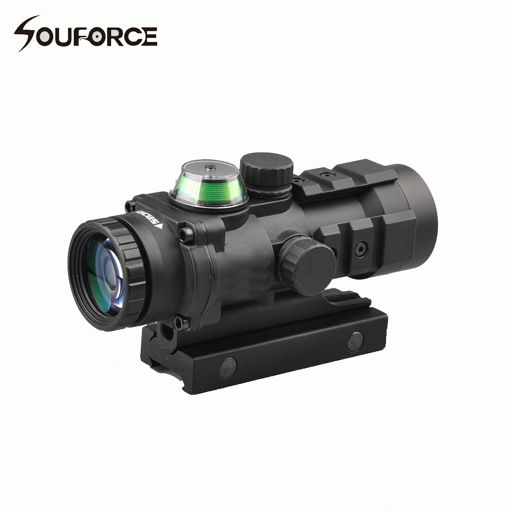 Tactical Optical Sight 3x32 Gp01 Fiber Prism Red/Green Illuminated Sight Riflescope with Ballistic CQ Reticle Fit on 20mm RailTactical Optical Sight 3x32 Gp01 Fiber Prism Red/Green Illuminated Sight Riflescope with Ballistic CQ Reticle Fit on 20mm Rail