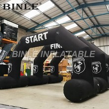 1825f6a80 Free shipping portable black outdoor event cheap inflatable arch inflatable  running race entrance arch inflatable bow for sale