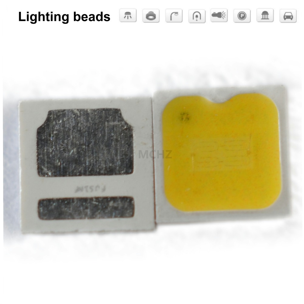 100pcs/LOT SMD LED SEOUL Lg Samsung Aot Osram 3030 Chip 1W 1.4W 3V 400MA 6V 200MA White Warm Cold 140-150LM