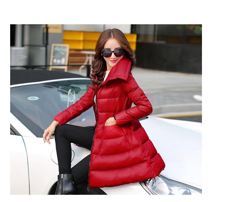 2018 nouvelle jupe type semblent minces manteau veste grande taille solide couleur qualité vers le bas Chaude Produits