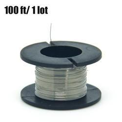 1 шт./30 метров 32 г нихромовый диаметр проволоки 0,2 мм kanthal-a1 DIY производство сопротивление нагревательного провода провод сплав
