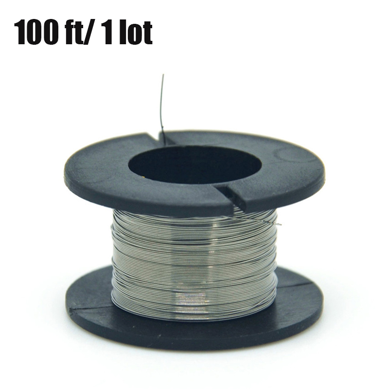 1PCS 30meters 32g Nichrome wire Diameter 0 2MM kanthal a1 DIY Manufacturing Heating wire Resistance wire Alloy heating yarn in Transmission Cables from Security Protection