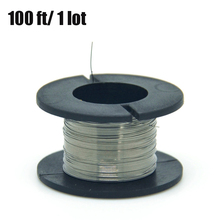 1PCS/30meters 32g Nichrome wire Diameter 0.2MM kanthal-a1 DIY Manufacturing Heating Resistance Alloy heating yarn