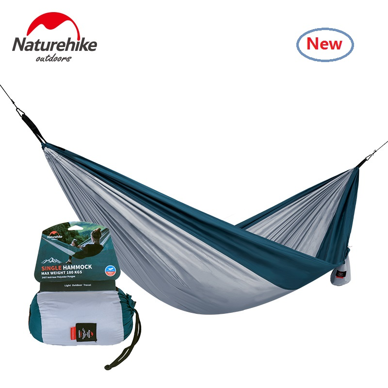 font b Naturehike b font factory sell Single double Picnic Hammock portable Camping Hammock Hanging