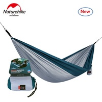 Naturehike factory sell Single & double Picnic Hammock portable Camping Hammock Hanging Bed Sleeping camping Hammocks