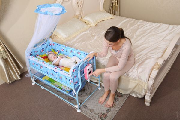 Charmant Intelligent Automatic Swing Baby Cradle Bed Baby Crib Portable Baby Sleeping  Basket Electric Control In Cradle From Mother U0026 Kids On Aliexpress.com ...