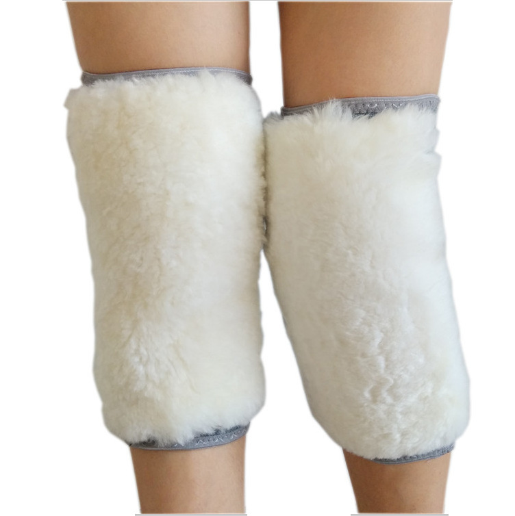 Winter Knitted Outdoor Warm And Thickened Wool Kneepad  Legged Protection Body Leg Sleeve 1pcs/lot