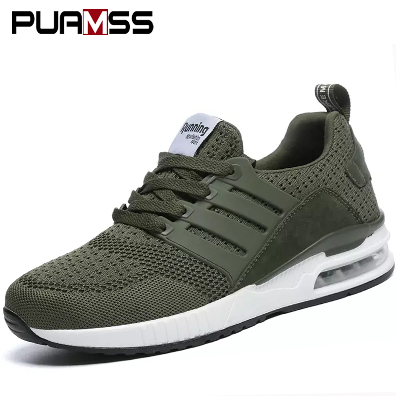 FairOnly Unisex Running Shoes Outdoor Camouflage Sport Shoes Breathable Men Walking Shoes Army Green Women Sneakers Big Size 36-46 White Grey