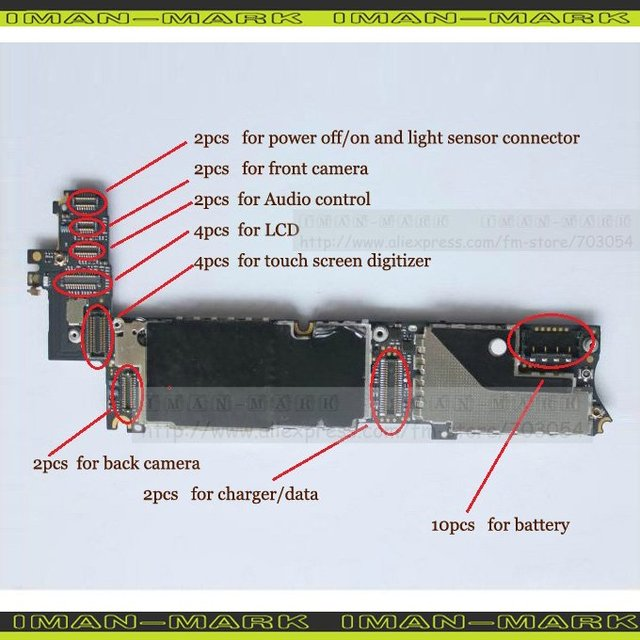 Ipad 3 Logic Board Diagram Electronic Schematics collections