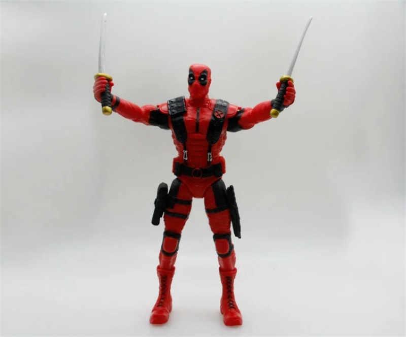 Juguetes locos Deadpool figura Juguetes PVC acción figura Brinquedos Figuras Anime coleccionable niños Juguetes muñeca modelo 35cm